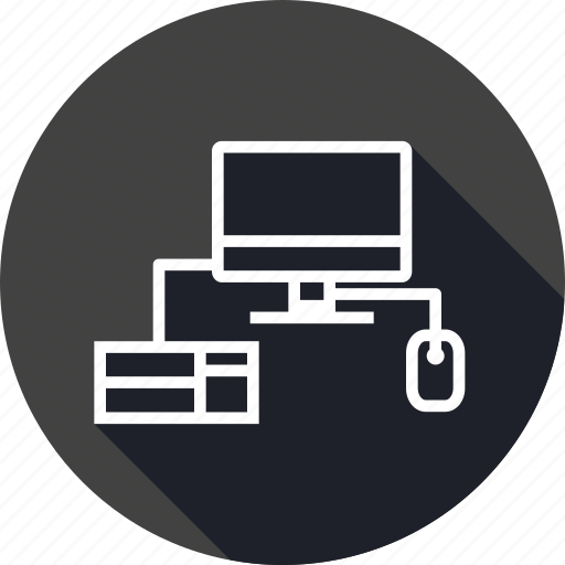 click, computer, keyboard, lab, laptop, mouse, study icon