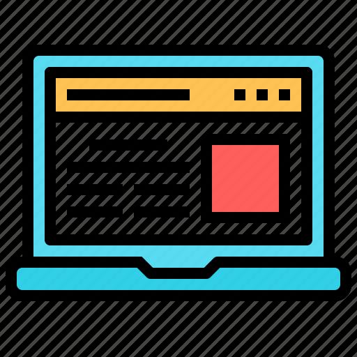 computer, desktop, imac, laptop, monitor, notebook, office icon