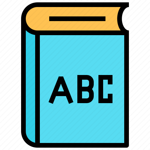 abc, book, education, knowledge icon