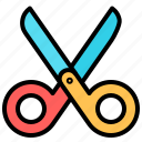 cut, scissors, tool, trim icon