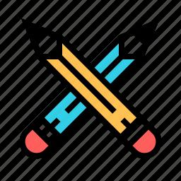 art, design, draw, pencil icon