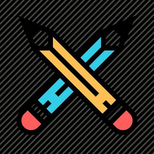 art, design, development, draw, graphic, illustration, pencil icon