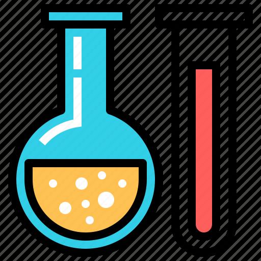 chemistry, experiment, laboratory, school icon