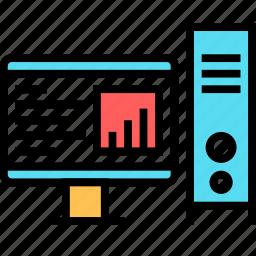 computer, desktop, display, mac, monitor, pc, screen icon