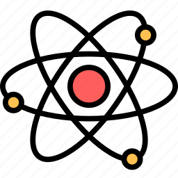 atom, knowledge, physics, science icon