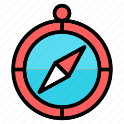 compas, compass, direction, safari, tool, travel icon