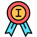 award, medal, prize, win icon