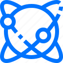atom, chemistry, education, knowledge, school, science, structure icon