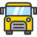 autobus, bus, education, school, truck icon