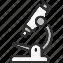 education, micro, microscope, school, scope, zoom icon