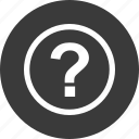 find, info, mark, more, out, question icon
