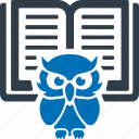 smart, classes, book, education, knowledge, study, learning icon
