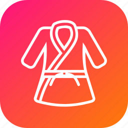 belt, cloth, combat, game, karate, sport, uniform icon