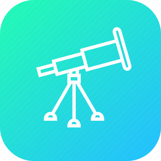 device, research, science, study, telescope, tool icon