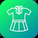 cloth, girl, school, study, uniform
