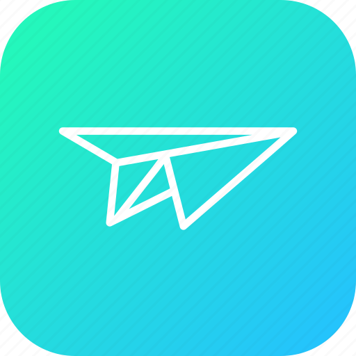 fun, game, memory, paper, plane, play, school icon