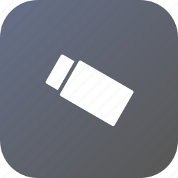 cover, eraser, ink, rubber, school, stationary, tool icon
