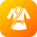 belt, cloth, combat, game, karate, sport, uniform icon