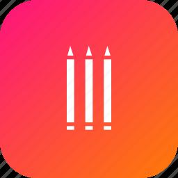marker, pen, pencil, school, sketchpen, study icon