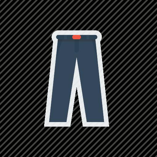 apparel, cloth, fashion, fullpant, school, uniform icon