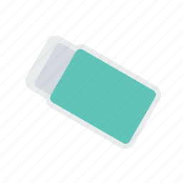 cover, erase, eraser, ink, rubber, school, tool icon