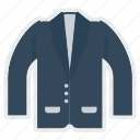 blazer, cloth, fashion, suit, uniform icon