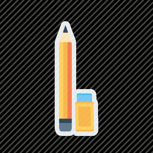 drawing, erase, eraser, pen, pencile, tool icon