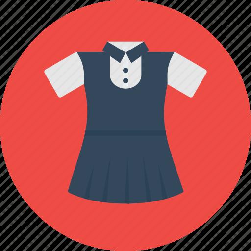 cloth, girl, school, study, uniform icon