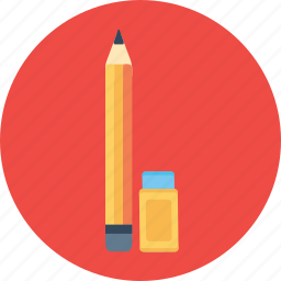 drawing, erase, eraser, pen, pencile, sketch, tool icon