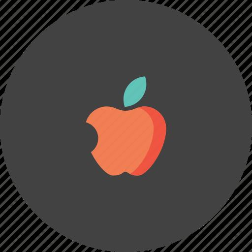 apple, basic, fruit, iphone, school, study, teaching icon