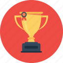 award, badge, medal, prize, trophy, win, winner icon
