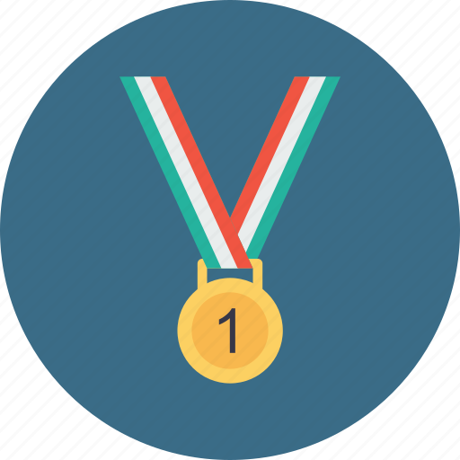 award, first, gold, medal, position, trophy, winner icon