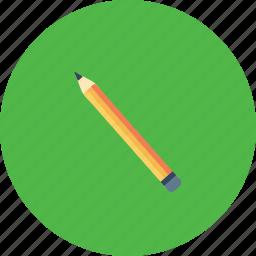 drawing, pen, pencil, school, sketch, study, tool icon