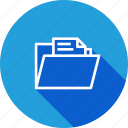 data, document, explorer, file, folder, paper, study icon