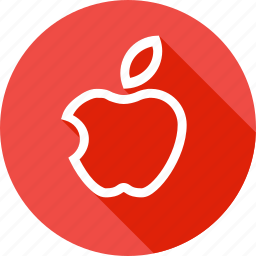 apple, basic, fruit, iphone, school, study, teaching icon