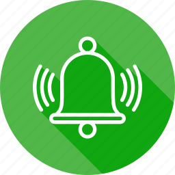alarm, bell, ring, stop, timer, watch icon