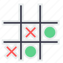 bench, circle, cross, fun, game, last, play icon