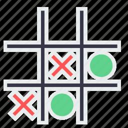 bench, circle, cross, fun, game, last, play icon
