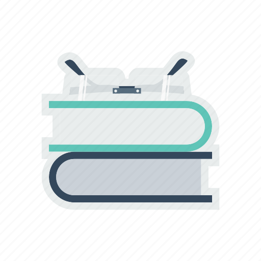 book, education, glass, library, reading, study icon