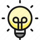 study, light, idea