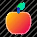 apple, food, fruit, lunch