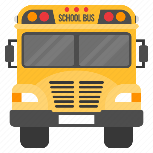 bus, delivery, learning, school, transport, transportation, vehicle icon