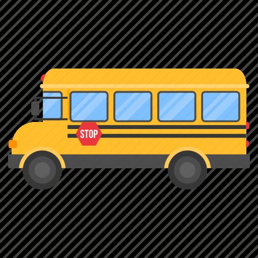 bus, car, delivery, school, vehicle icon