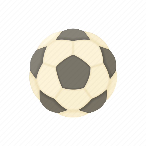 ball, cartoon, football, game, play, soccer, sport icon