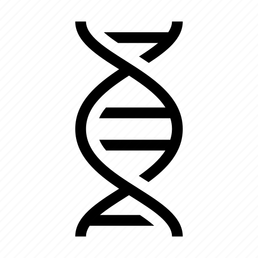 biology, dna, education, genetical, medical, science icon