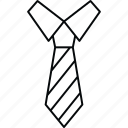 cloth, school, tie, uniform icon