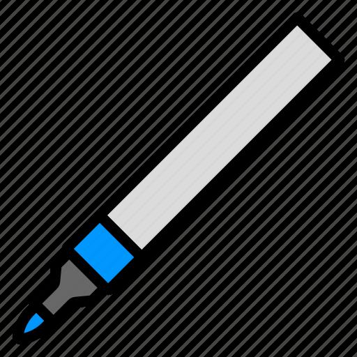 equipment, marker, pen, school, write icon