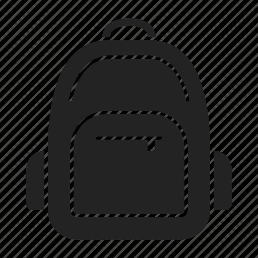 backpack, rucksack, schoolbag icon
