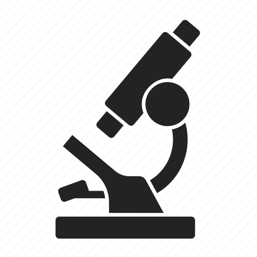 lab, microscope, science icon