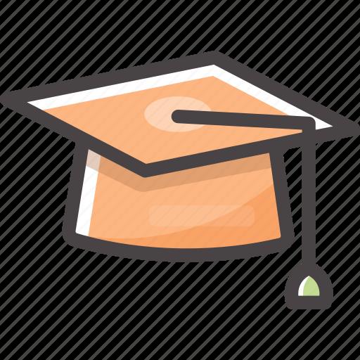 cap, diploma, graduation, graduationcap, student, study icon